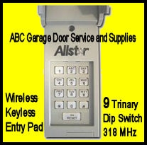 Allstar 9931 Wke Wireless Keypad 318mhz