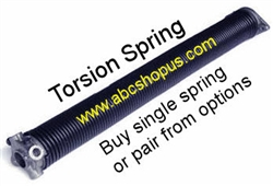 218 Gauge Wire X 1 3 4 Quot I D Garage Door Torsion Spring