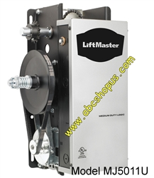 Liftmaster Mj 5011 Medium Duty Jackshaft Commercial Operator