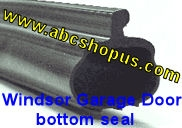 Windsor P Bulb Garage Door Bottom Weather Seal 16